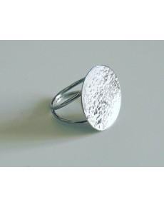 Anello a doppio gambo in Argento
